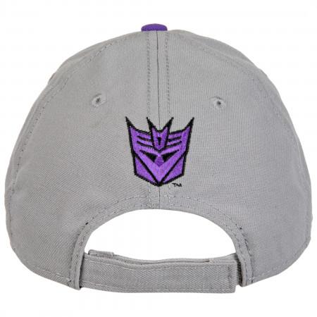 Transformers Decepticons Logo New Era 9Forty Adjustable Hat