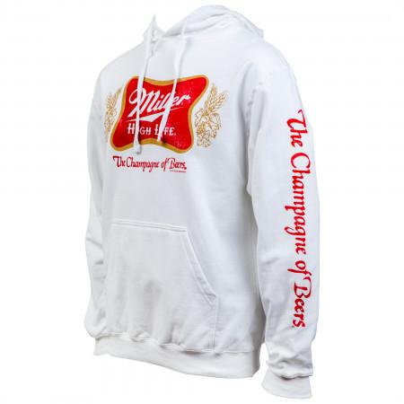 Miller High Life Logo Sleeve Print Hoodie