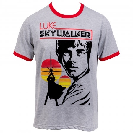 Star Wars Luke Skywalker Ringer T-Shirt