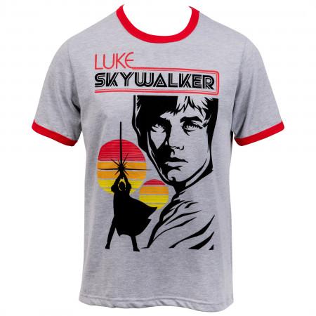 Star Wars Luke Skywalker Ringer T-Shirt