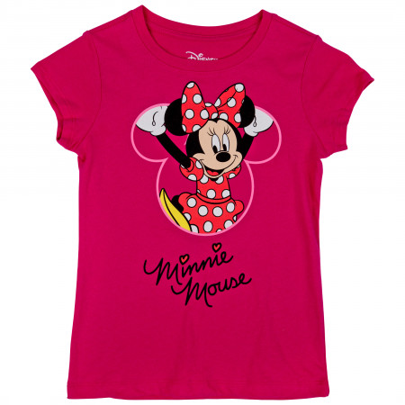 Minnie Mouse Disney Character Climbing Youth T-Shirt