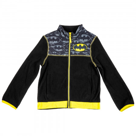Batman Symbols All Over Kids Coat