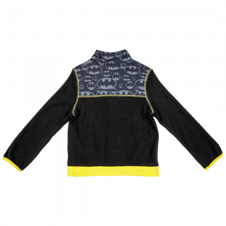 Batman Symbols All Over Kids Coat