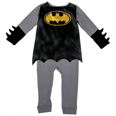 Batman DC Comics Caped Costume Romper