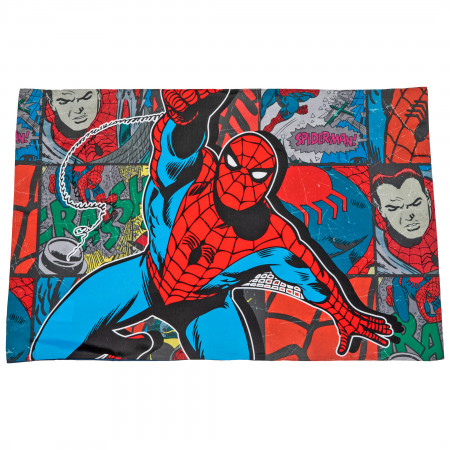 Spider-Man Jump Kick Pillowcase