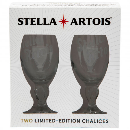 Stella Artois Limited Edition Chalice Glass 2-Pack