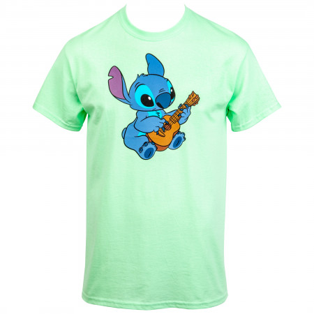 Lilo and Stitch Ukulele Aloha T-Shirt