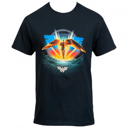 Wonder Woman 1984 Flight Scene with Back Print Women's T-Shirt