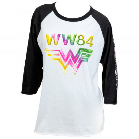 Wonder Woman 1984 Print Women's Raglan T-Shirt