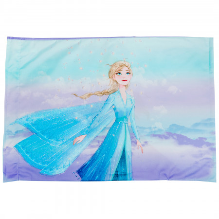 Disney Frozen 2 Anna and Elsa Characters Pillowcase