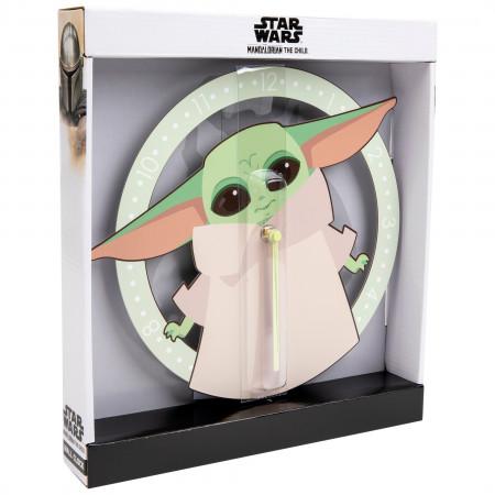 "Star Wars The Mandalorian ""The Child"" Cute Expression Clock"