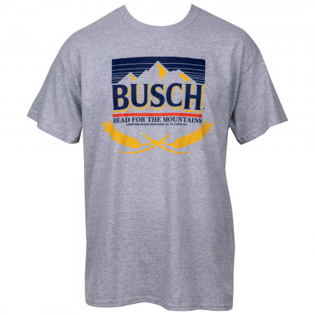 Busch Beer Head for the Mountains T-Shirt