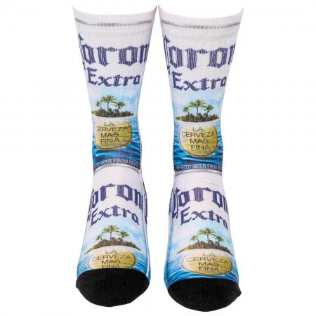 Corona Extra Island Life Crew Socks