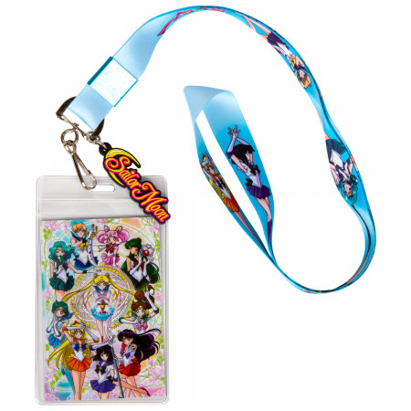 Sailor Moon and Friends ID Badge and Charm Lanyard