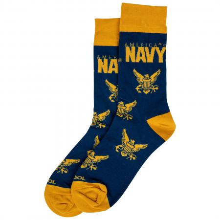 United States Navy Crew Socks