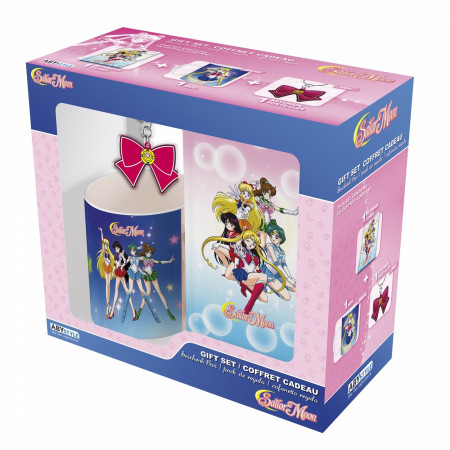 Sailor Moon Notebook, Mug, & Keychain Gift Set