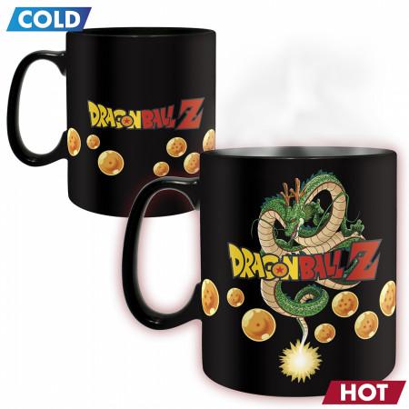 Dragon Ball Z Goku Super Saiyan Color Change Mug and Coaster Set
