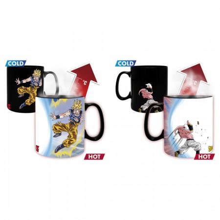 Dragon Ball Z  Goku vs. Kid Buu Magic Mug & Coaster Gift Set