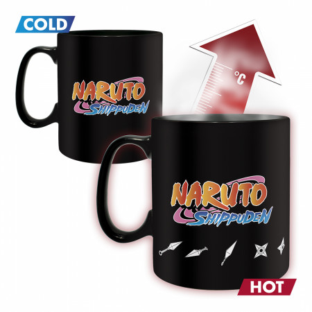 Naruto Jutsu Color Changing Mug & Coaster Set