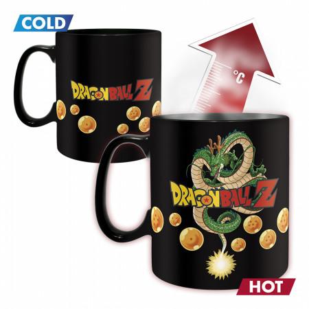 Dragon Ball Z Vegeta Super Saiyan Color Change Mug & Coaster Set