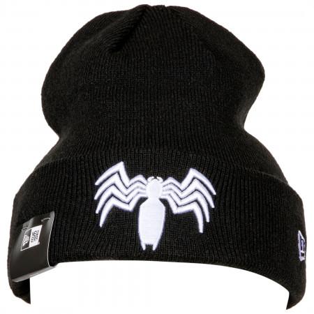 Venom Symbol Cuff Knit New Era Beanie