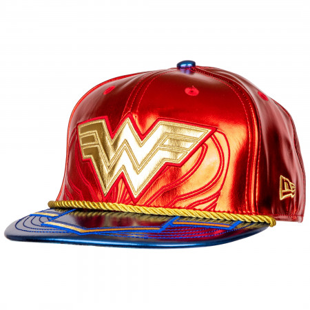 Wonder Woman 1984 Character Armor 59Fifty Fitted New Era Hat