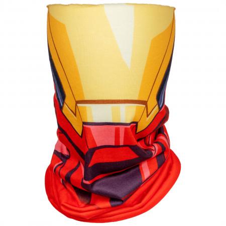 Iron Man Character Costume Full Face Tubular Bandana Gaiter