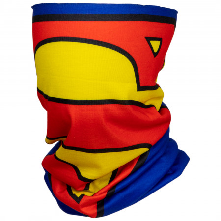 Superman Character Costume Full Face Tubular Bandana Gaiter