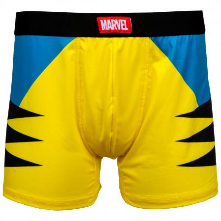 Wolverine Costume Men's Underwear Boxer Briefs
