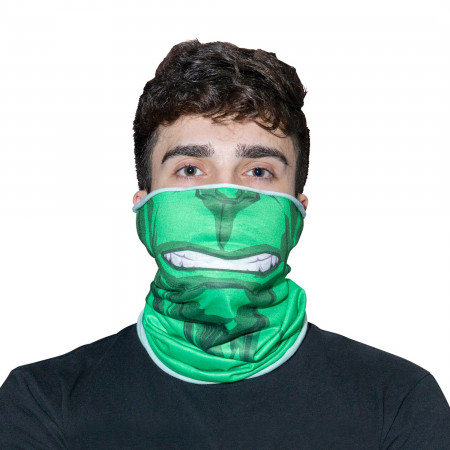 Incredible Hulk Character Costume Full Face Tubular Bandana Gaiter