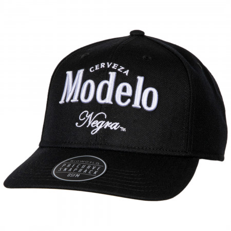 Negra Modelo Pre-Curved Adjustable Snapback Hat