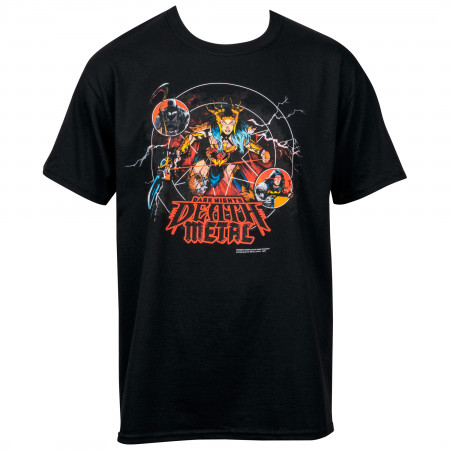 DC Comics Dark Nights Death Metal Comic Cover T-Shirt