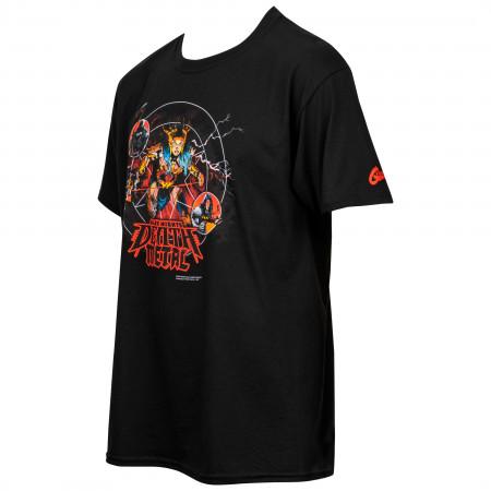 DC Comics Dark Nights Death Metal Comic Cover T-Shirt