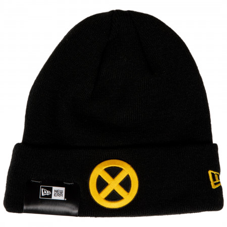 X-Men Yellow Symbol Cuff Knit New Era Beanie