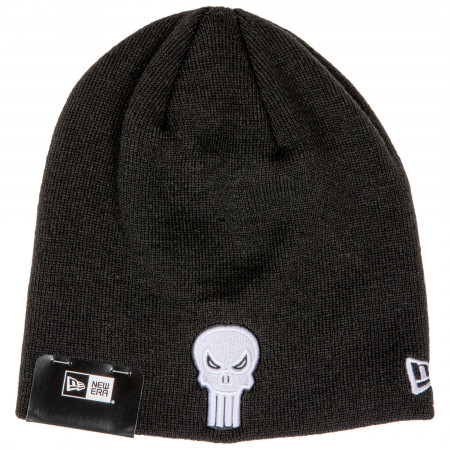 Punisher Symbol Black New Era Beanie