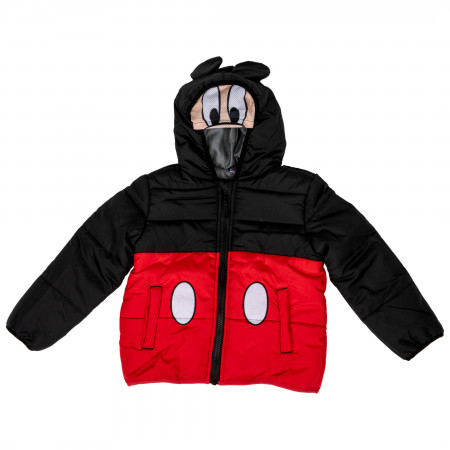 Disney Mickey Mouse Costume Puffy Kids Jacket