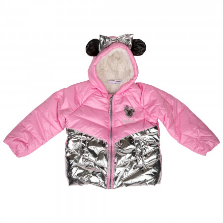 Disney Minnie Mouse Costume Puffy Kids Jacket