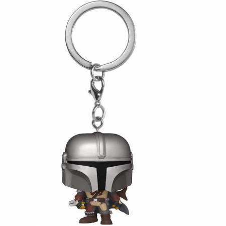 Star Wars The Mandalorian Hero Stance Funko Pop! Keychain