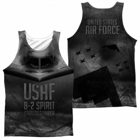 Air Force Stealth WHITE Sublimation Tank Top