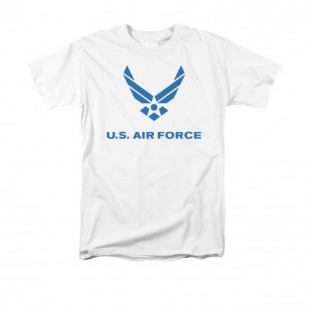 US Air Force Logo White T-Shirt
