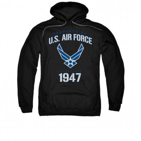 US Air Force 1947 Black Pullover Hoodie