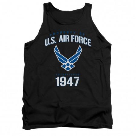 US Air Force Property Black Mens Tank Top