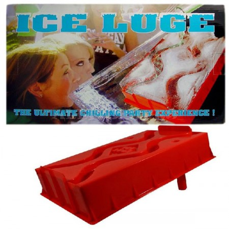 Ice Luge Ramp Tray Party Drinking Game