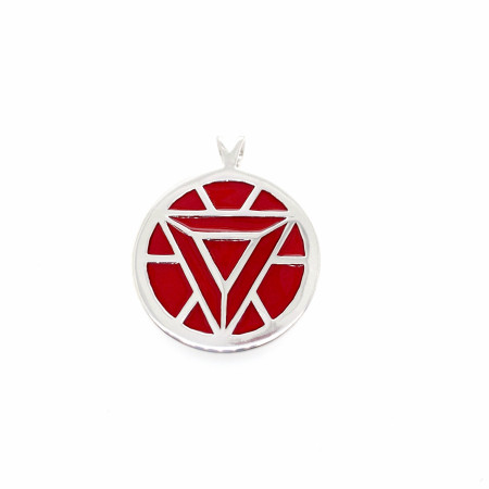 Marvel Iron Man's Arc Reactor Red Pendant