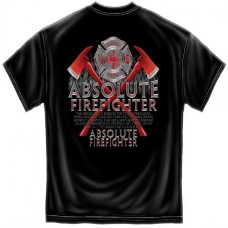 Men's Absolute Firefighter Patriotic T-Shirt