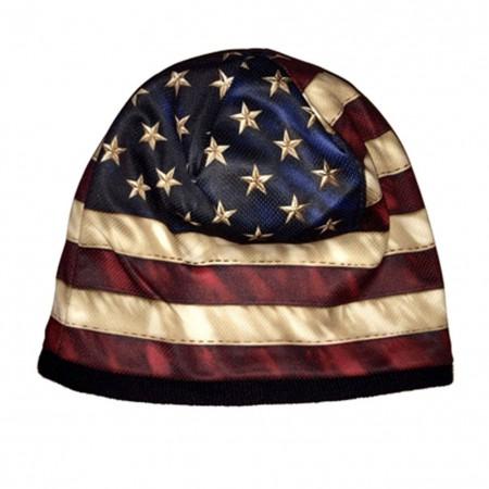 US American Flag Hat Beanie