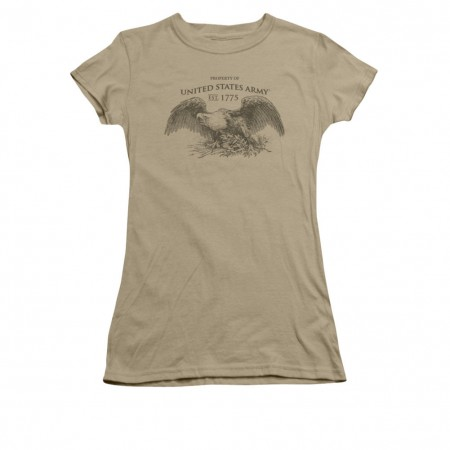 US Army Property Of Brown Juniors T-Shirt