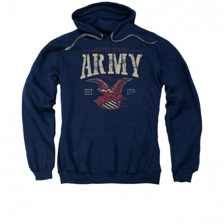 US Army Arch Blue Pullover Hoodie