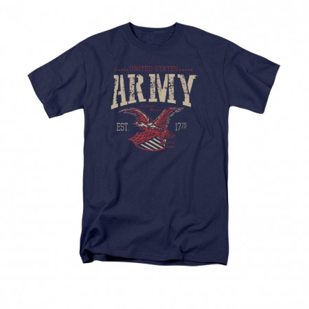US Army Arch Navy Blue T-Shirt