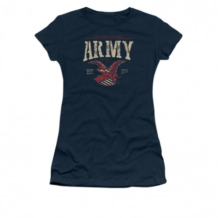 US Army Arch Blue Juniors T-Shirt